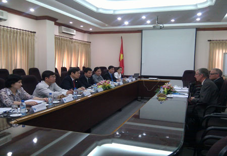 The Danish Patent and Trademark Office delegation visits Vietnam