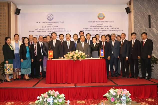 Promoting cooperation on geographical indications with Department of Intellectual Property of Laos