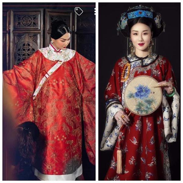 Phượng bào bị tố đạo nhái trang phục Trung Quốc, Thanh Hằng nói gì?