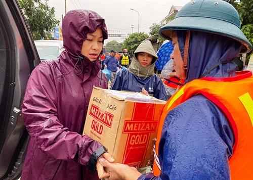 Floods in Central Vietnam: Revising law to ensure effectiveness and lawfulness of charitable activities