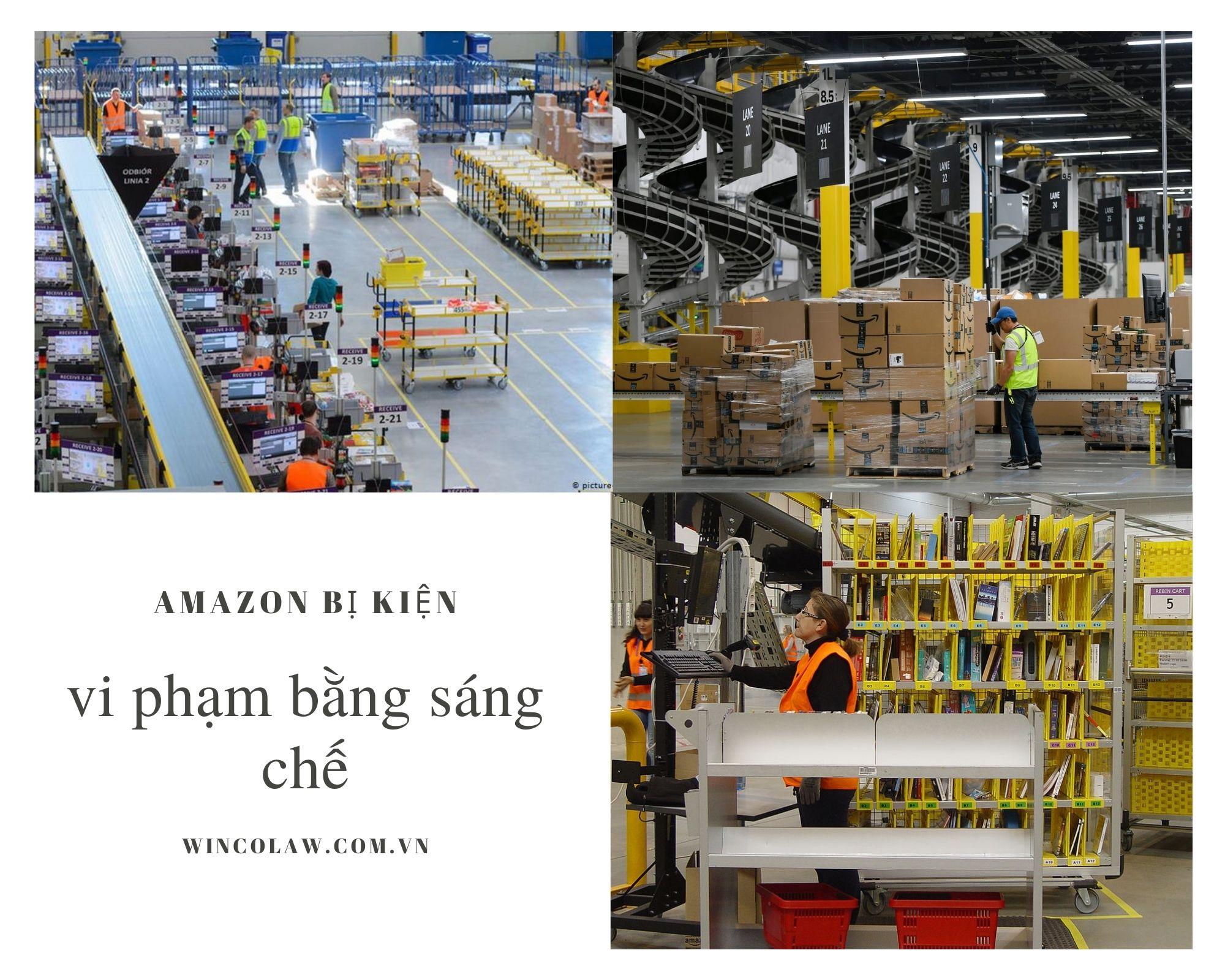 Amazon nằm trong số nhiều công ty bị kiện vì vấn đề vi phạm bằng sáng chế