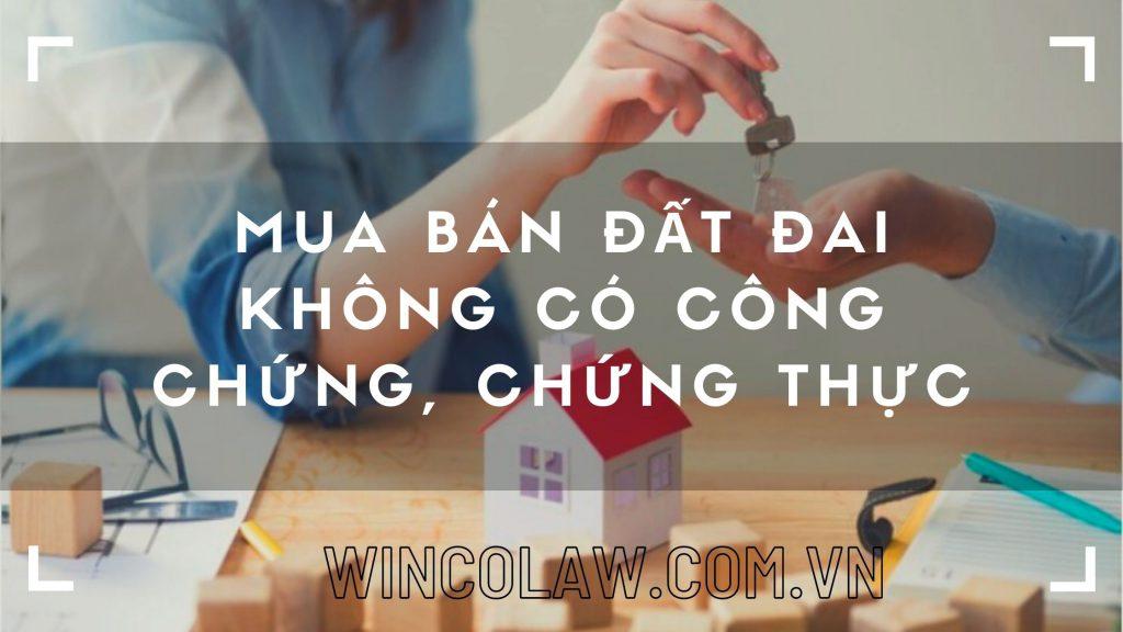 mua ban dat dai khong co cong chung chung thuc