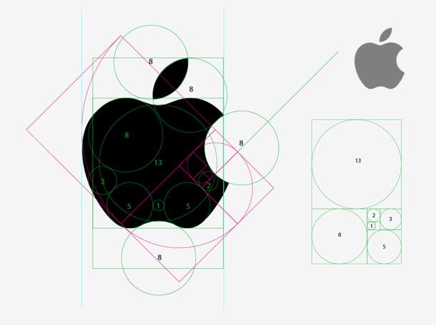 ti le vang logo apple